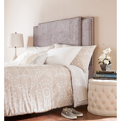 Alphonse Expandable Upholstered Headboard