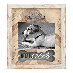 Fur Baby Galvanized Wood Clip Frame