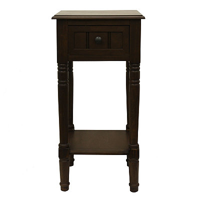 SDF_Simplify One Drawer Square Accent Table