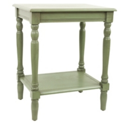 Green Simplify End Table