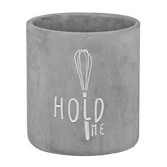 Hold Me Cement Utensil Holder