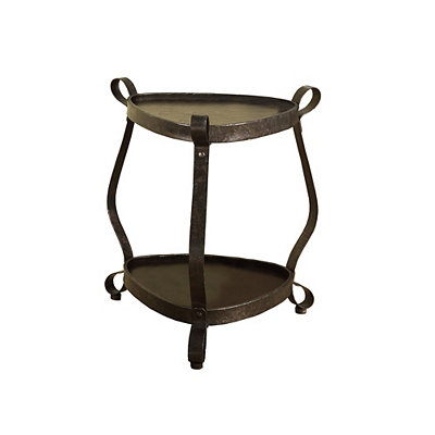 Bronze Loops Accent Table