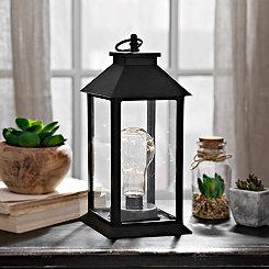 Pre-Lit Edison Bulb Lantern