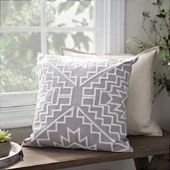 Aztlan Gray Pillow