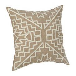 Aztlan Tan Pillow