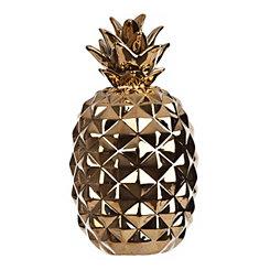 Gold Pineapple Figurine