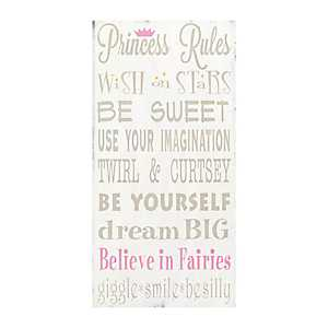 Princess Rules Canvas Art Print