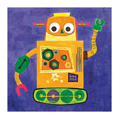 Robokix II Canvas Art Print