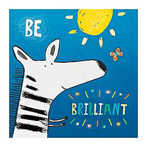 Be Brilliant Canvas Art Print