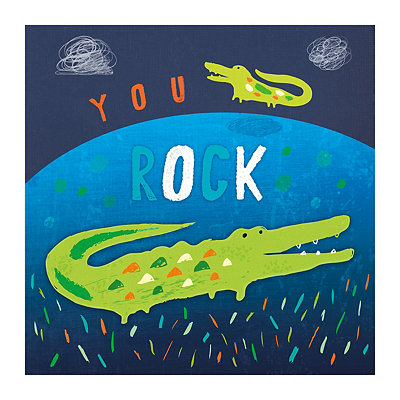 You Rock Canvas Art Print