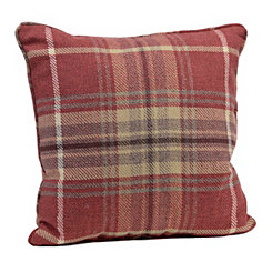 Red Plaid Windsor Pillow