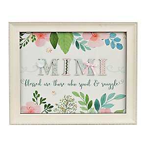 Mimi Floral Scrapbook Shadowbox