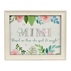 Mimi Floral Scrapbook Shadowbox