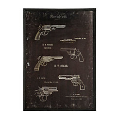 History of the Revolver Wall Art