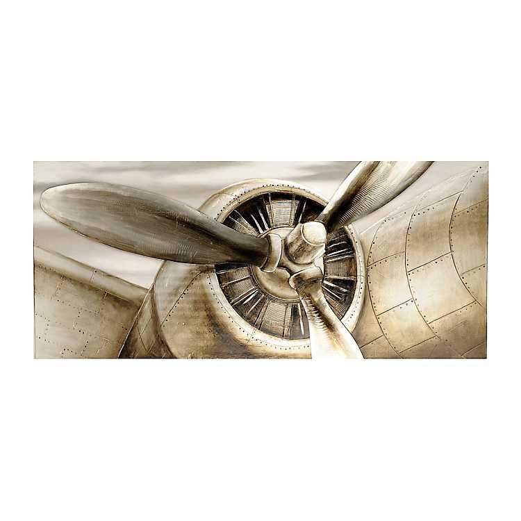 Airplane Propeller Canvas Art Print Kirklands