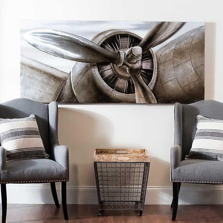 Airplane Propeller Canvas Art Print | Kirklands