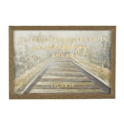 Great Joy Railroad Framed Art Print