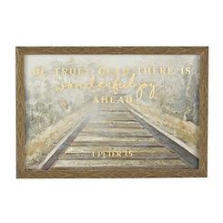 Great Joy Railroad Framed Art Print