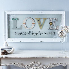 Love and Laughter Shadowbox