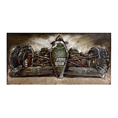 Formula One Metal Wall Art