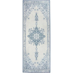 Blue Parisa 2-pc. Washable Runner