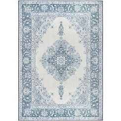 Blue Parisa 2-pc. Washable Area Rug, 5x7
