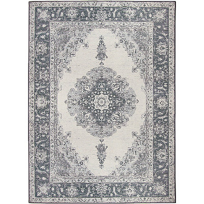 Gray Parisa 2-pc. Washable Area Rug, 5x7