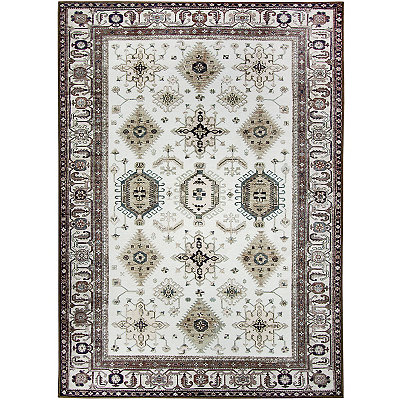 Taupe Noor 2-pc. Washable Area Rug, 5x7