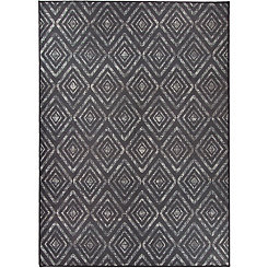 Black Prism 2-pc. Washable Area Rug, 5x7