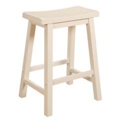 White Color Story Counter Stool