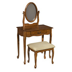 Woodland Oak Vanity Set