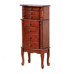 Cherry Classic Jewelry Armoire