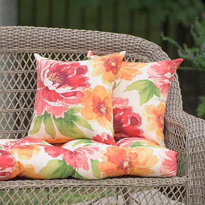 Muree Primrose Outdoor Pillows, Set of 2