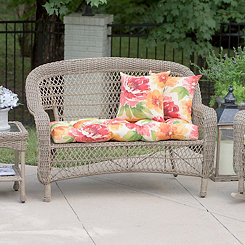 Muree Primrose Outdoor Settee Cushion