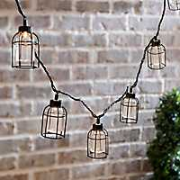 Caged Edison Bulbs String Lights