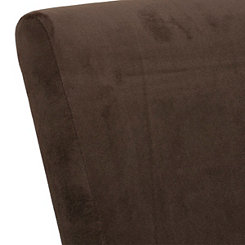 Espresso Velvet Fabric Swatch