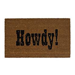 Howdy Welcome Doormat