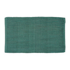 Teal Bubble Knot Scatter Rug