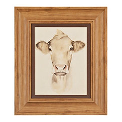 Barn Animal Cow I Framed Art Print