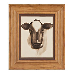 Barnyard Animal Cow II Framed Art Print