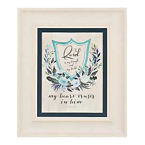 Scripture Crest II Framed Art Print
