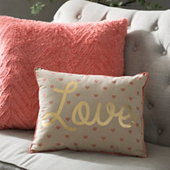 Love Mini Hearts Pillow