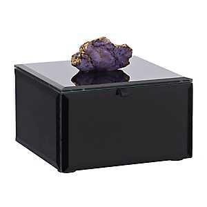 Black Agate Jewelry Box