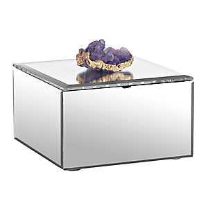 Clear Agate Jewelry Box
