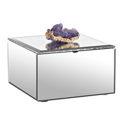 Clear Agate Jewelry Box