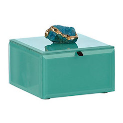 Turquoise Agate Jewelry Box