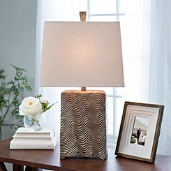 Cordova Metallic Table Lamp