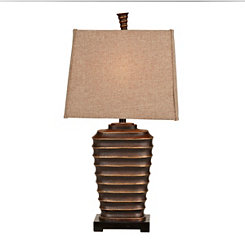 Bronze Ridge Table Lamp
