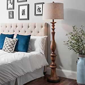 Laney Danver Wood Floor Lamp