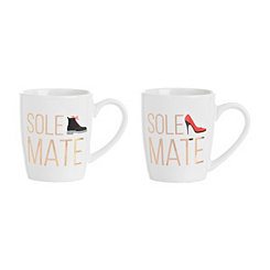 Sole Mate Mug Set